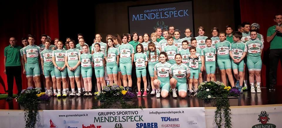 Il gruppo 2016 del Gs Mendelspeck