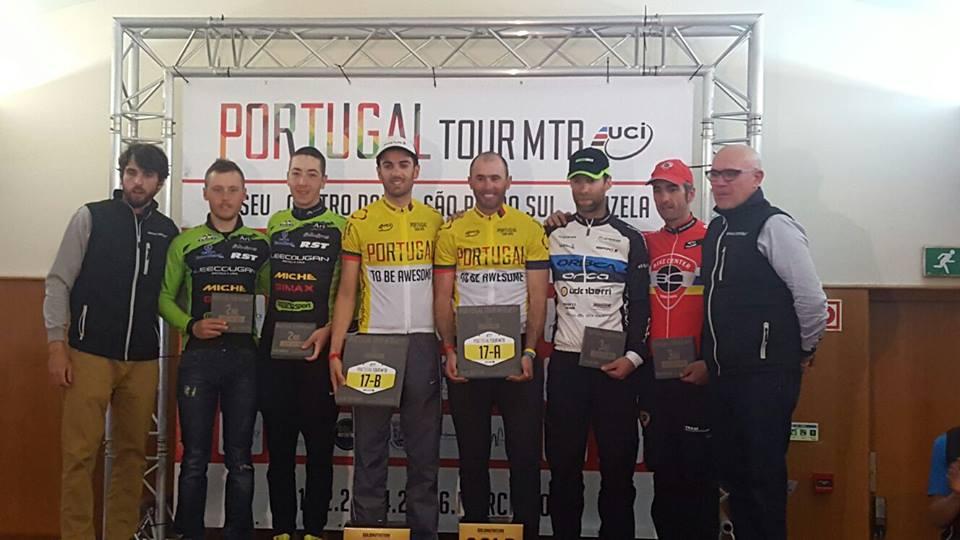 Il podio finale del Portugal Tour MTB 2016