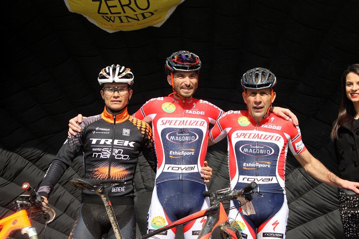 Il podio della South Garda Bike 2016