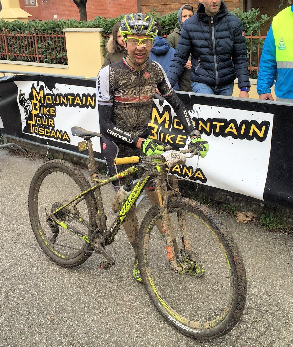 Tony Longo vincitore della Bacialla Bike