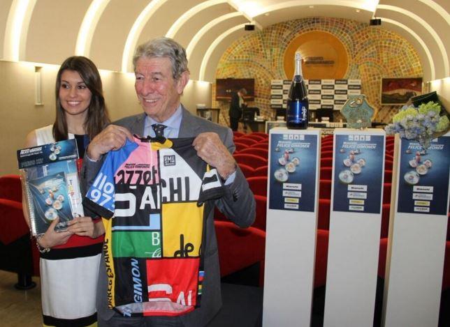 La maglia celebrativa della 20esima edizione della Felice Gimondi (foto Vitesse)