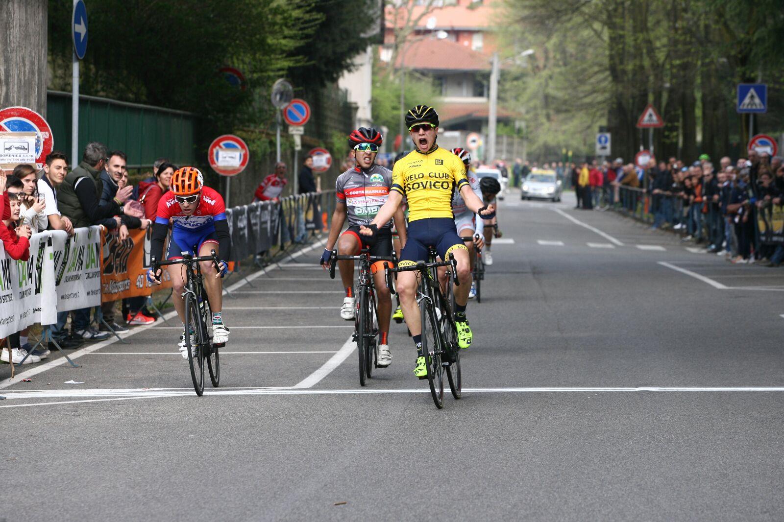 Marco Vergani vince a Sovico