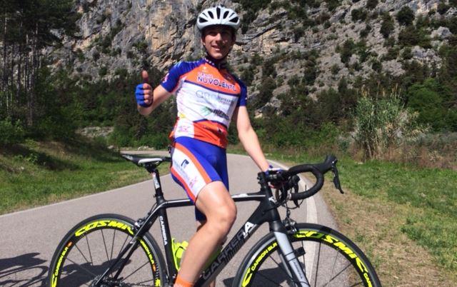 Andrea Rabba vince la gara Esordienti 2° anno di Dro