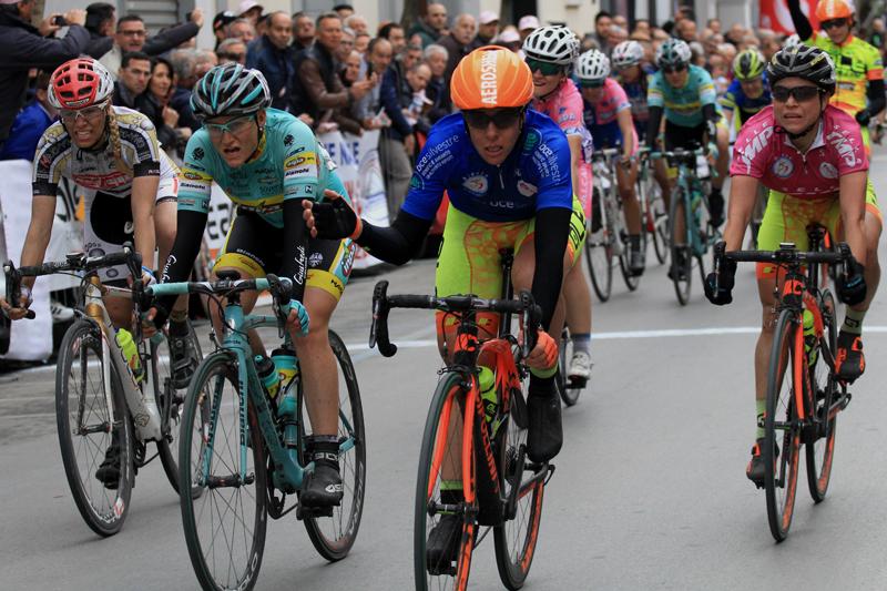 Marta Bastianelli vince anche l'ultima volata del Giro della Campania in Rosa