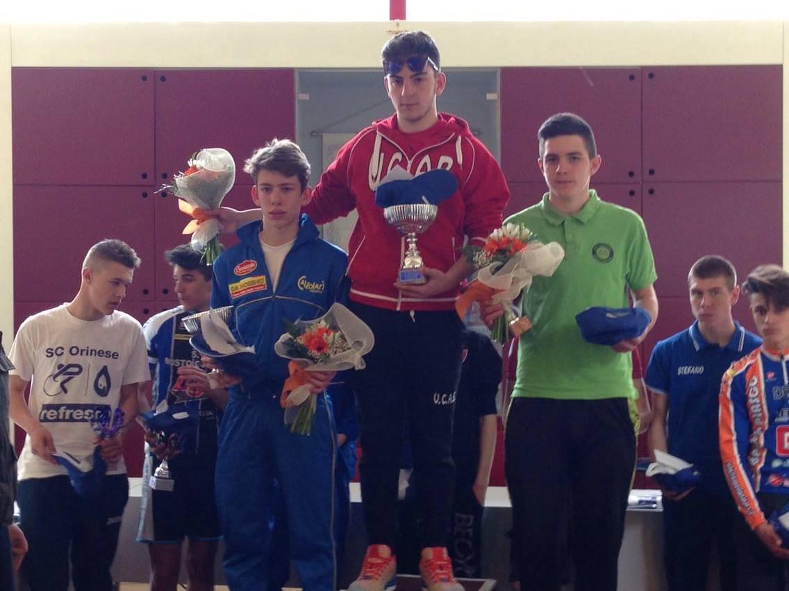 Teofilo, Fancellu e Garzi sul podio a Castelletto Ticino