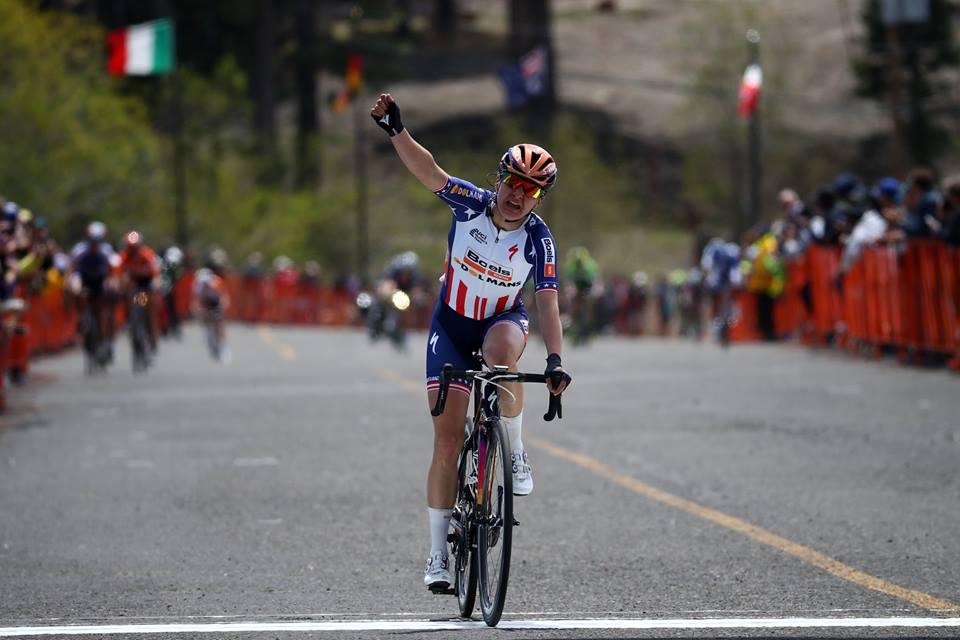 Megan Guarnier vince la prima tappa del Women's Tour of California 2016