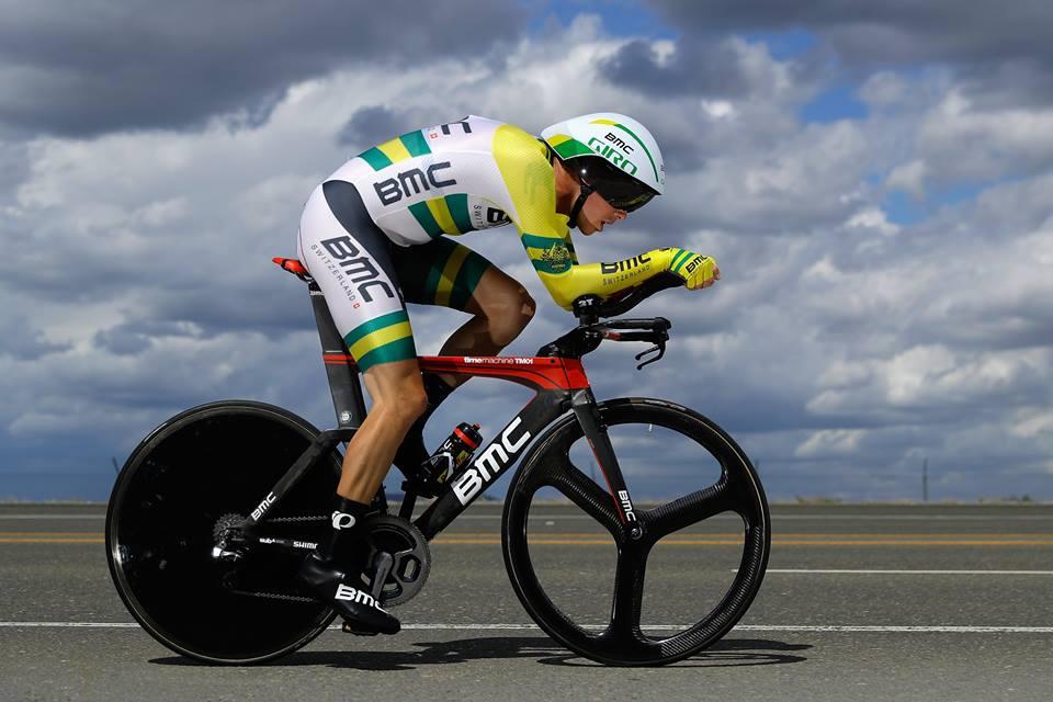 Rohan Dennis vincitore della cronometro