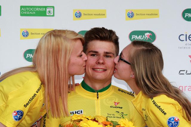 Lo svizzero Stefan Bissegger resta il leader della corsa