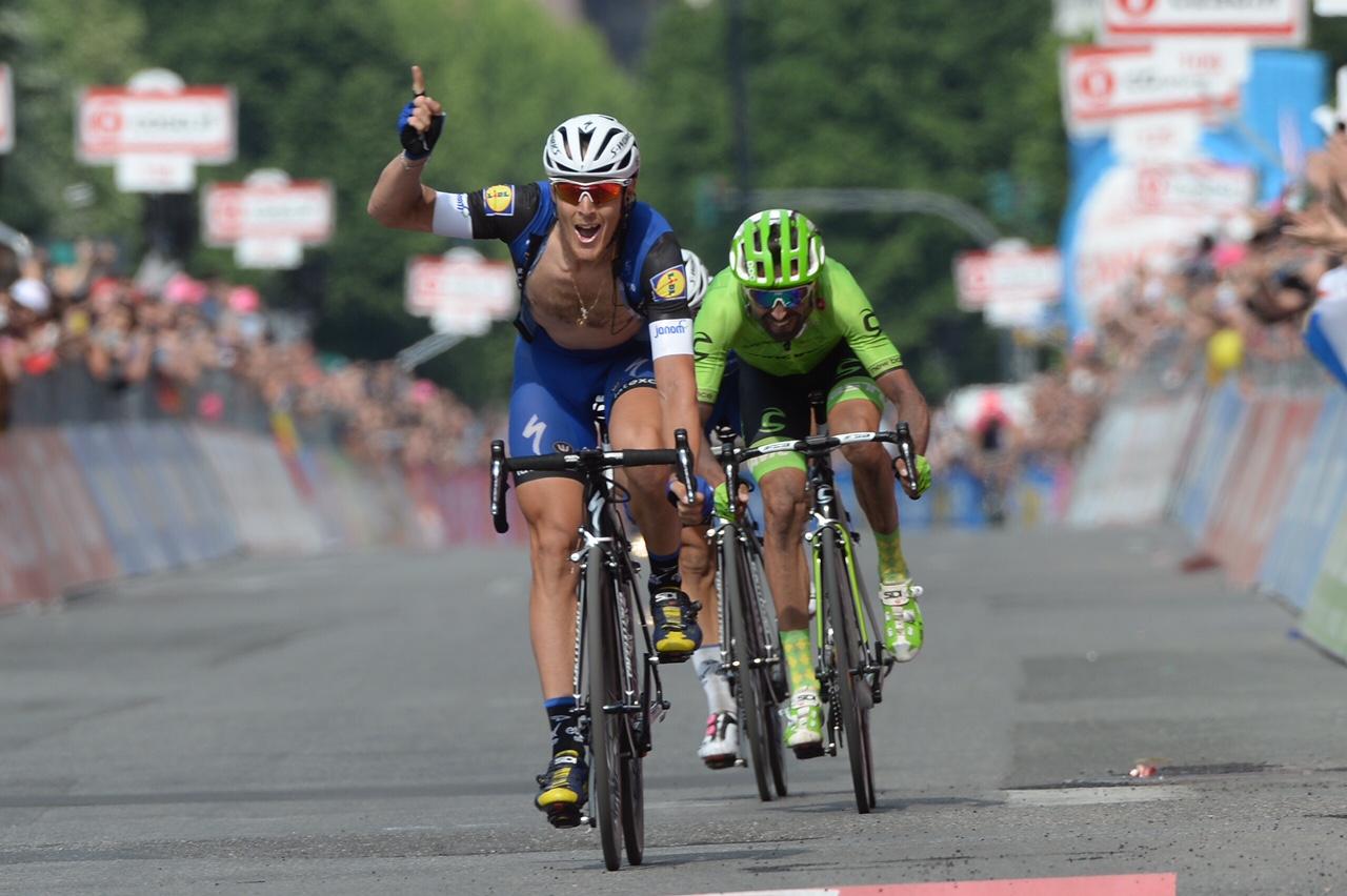 La vittoria di Matteo Trentin a Pinerolo