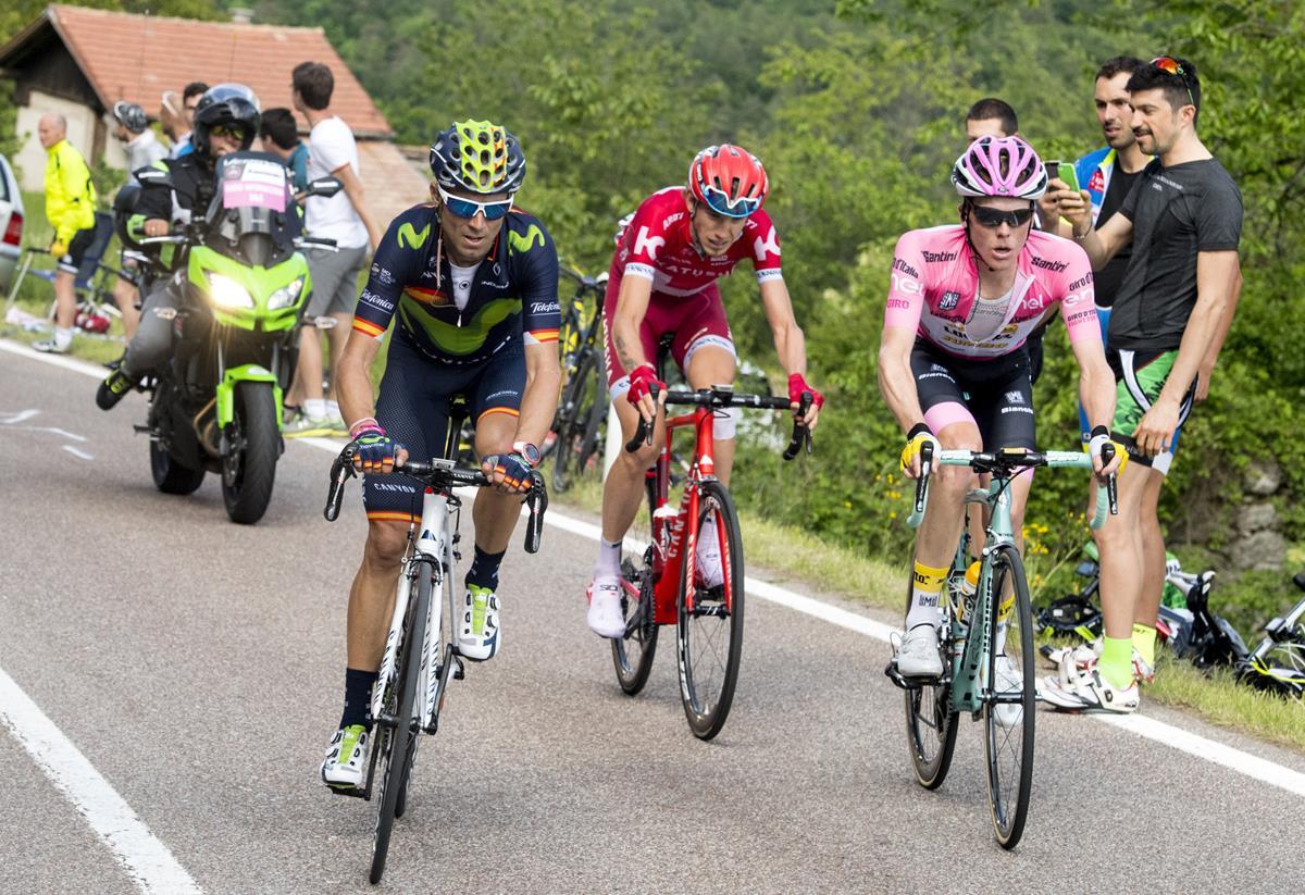 Valverde, Zakarin e Kruijswijk all'attacco