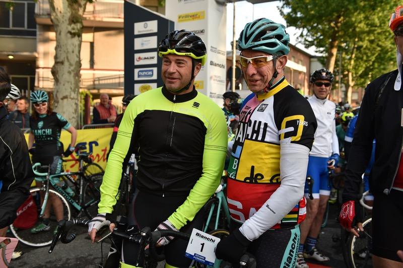 Antonio Rossi e Felice Gimondi