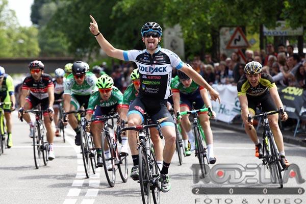 La vittoria di Riccardo Minali a Pregnana Milanese