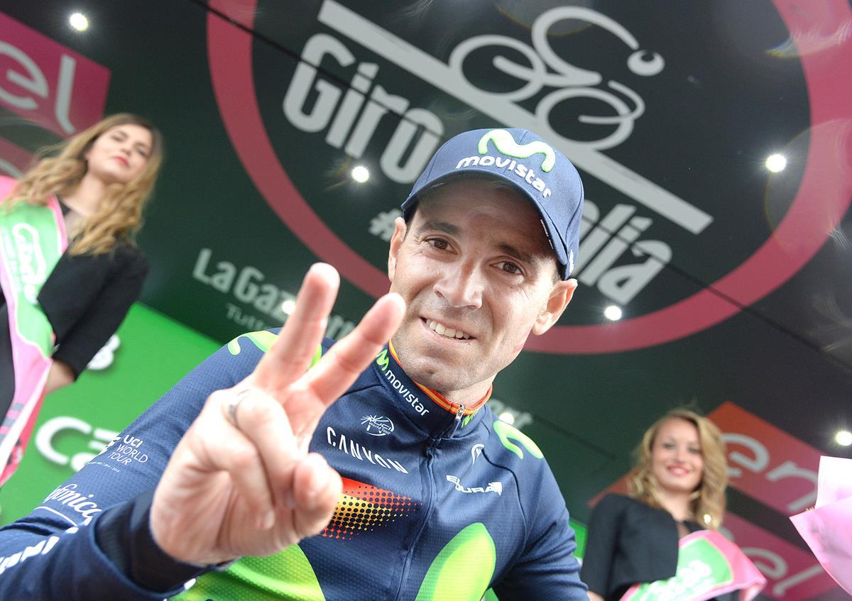 Alejandro Valverde vincitore ad Andalo
