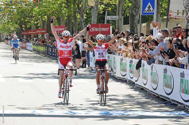 Simona Parente (Somec-MG.K Vis-LGL) vincitrice del percorso lungo maschile della Nove Colli 2016