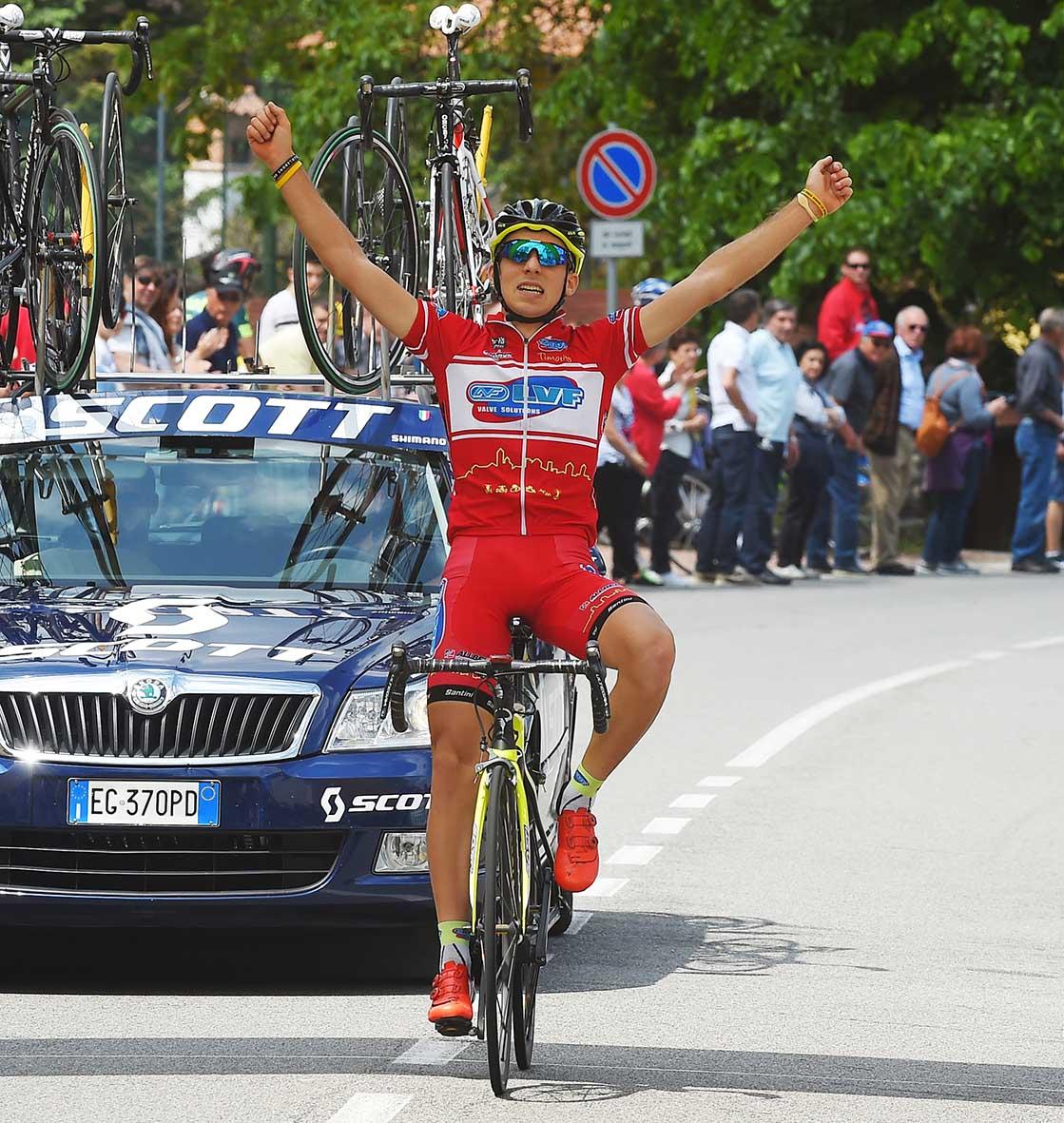 Davide Baldaccini vince solitario al Brinzio
