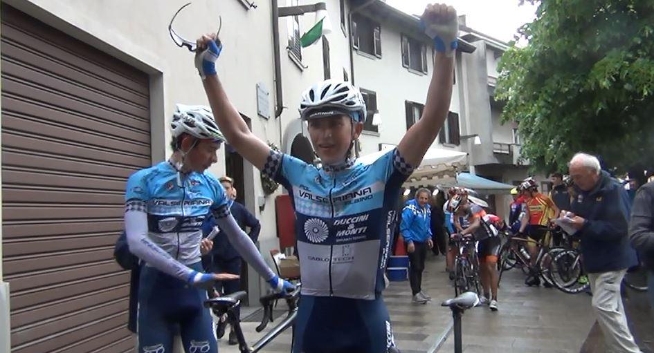 Davide Persico vincitore del 25° Gp 1° Maggio di Osio Sotto