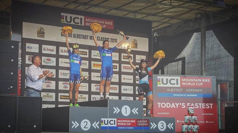 Domina l'azzurro di Berta e Verrando sul podio Donne Junior