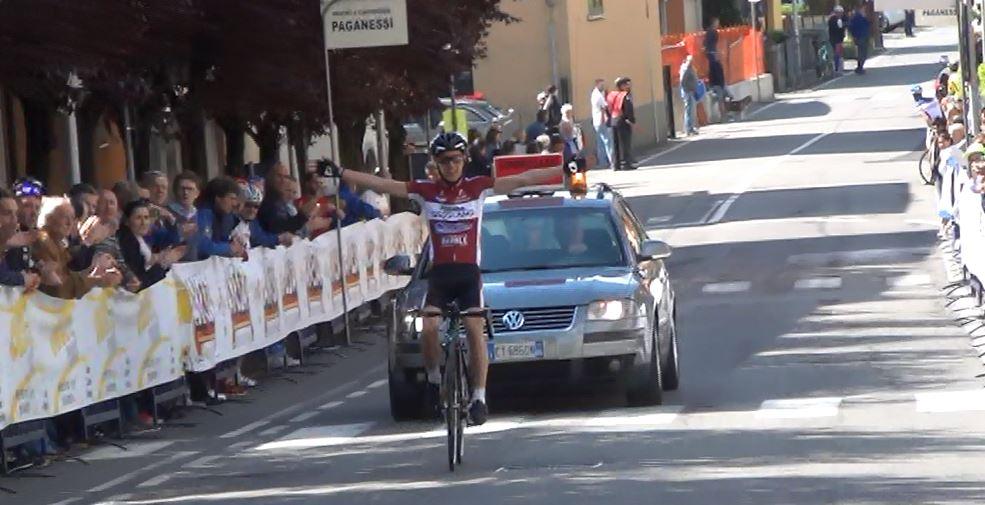 La vittoria di Samuele Rubino a Colzate