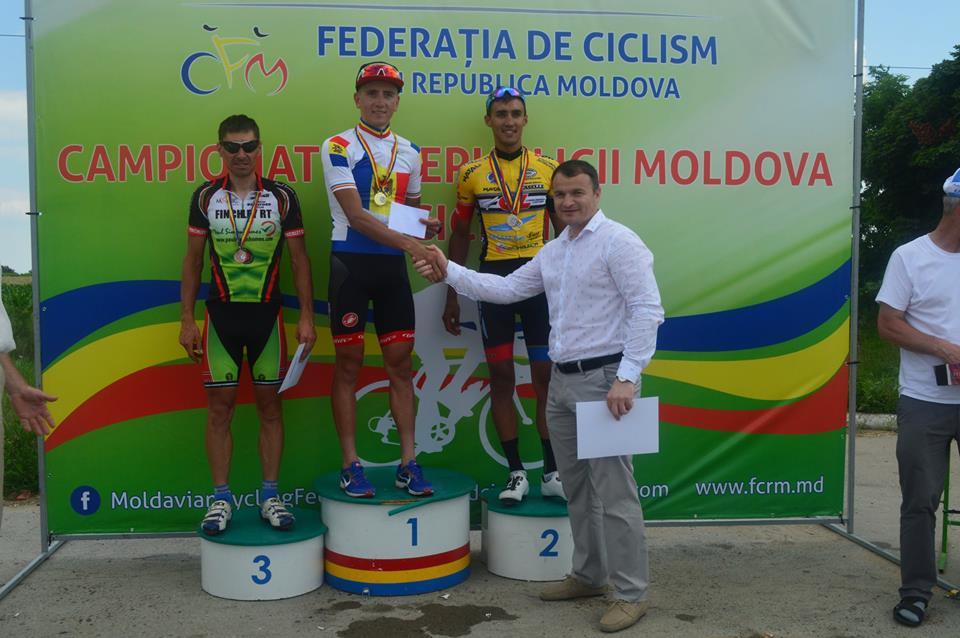 Il podio del Campionato Italiano Elite
