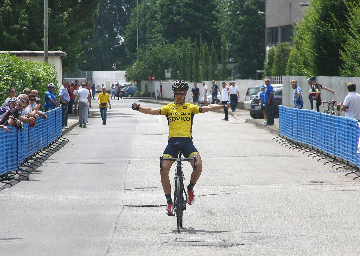 La vittoria dell'allievo Andrea Figini a Pessano