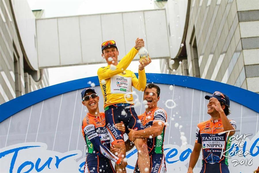 Grega Bole vincitore del Tour de Korea 2016