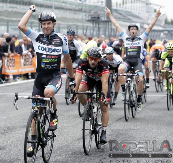 La vittoria di Francesco Lamon all'Autodromo di Monza