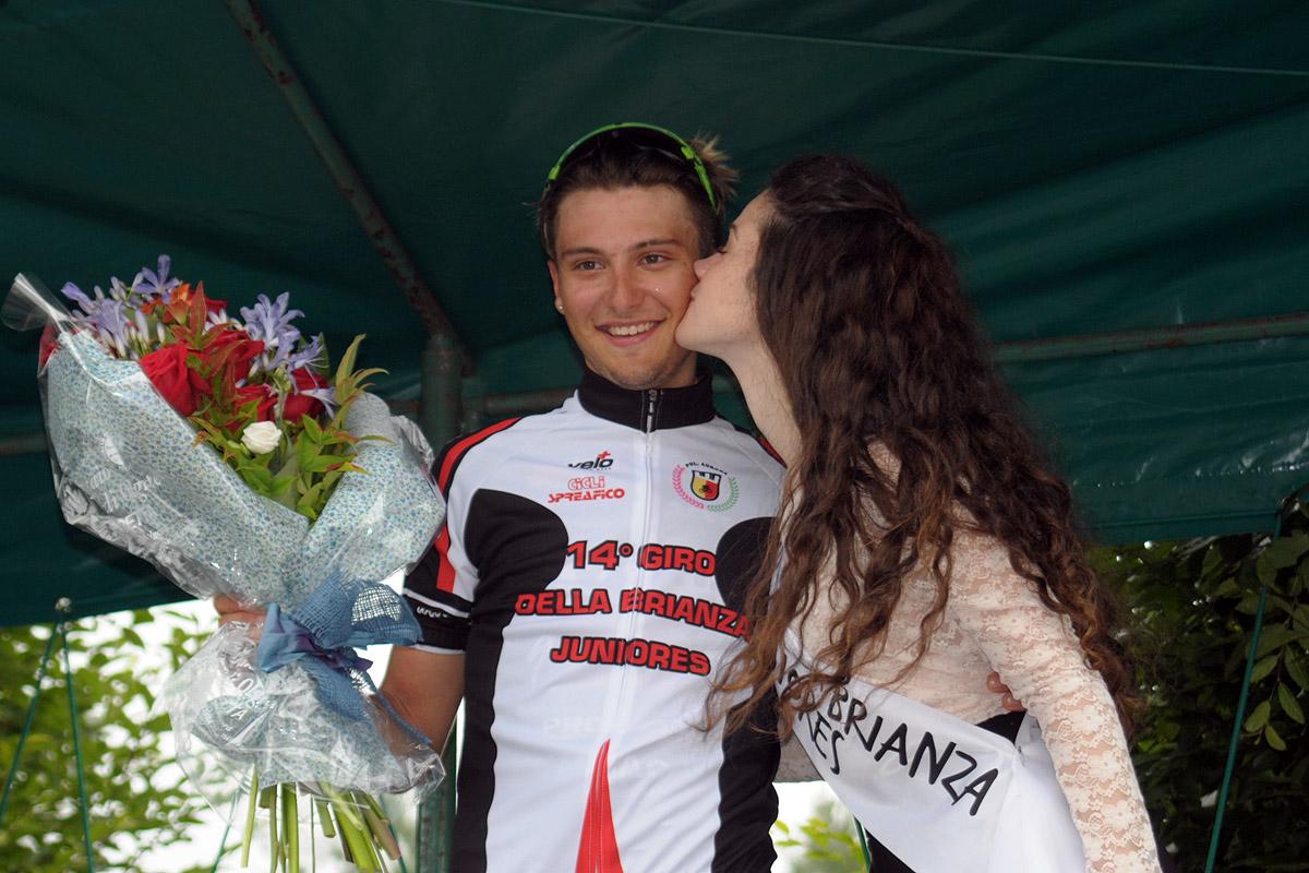Andrea Barbierato vincitore del Giro della Brianza 2016