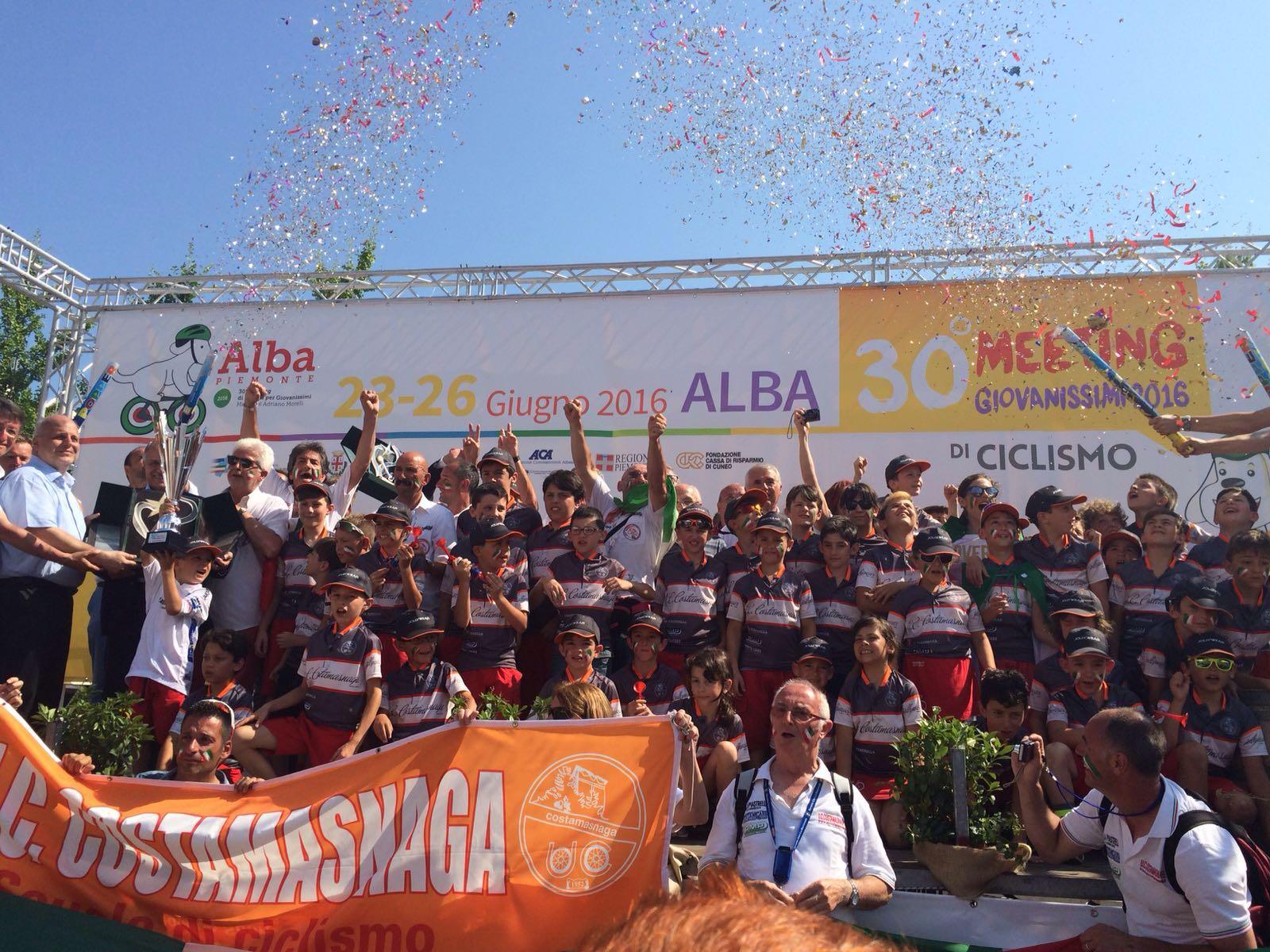 L'Uc Costamasnaga vince il Meeting Giovanissimi di Alba