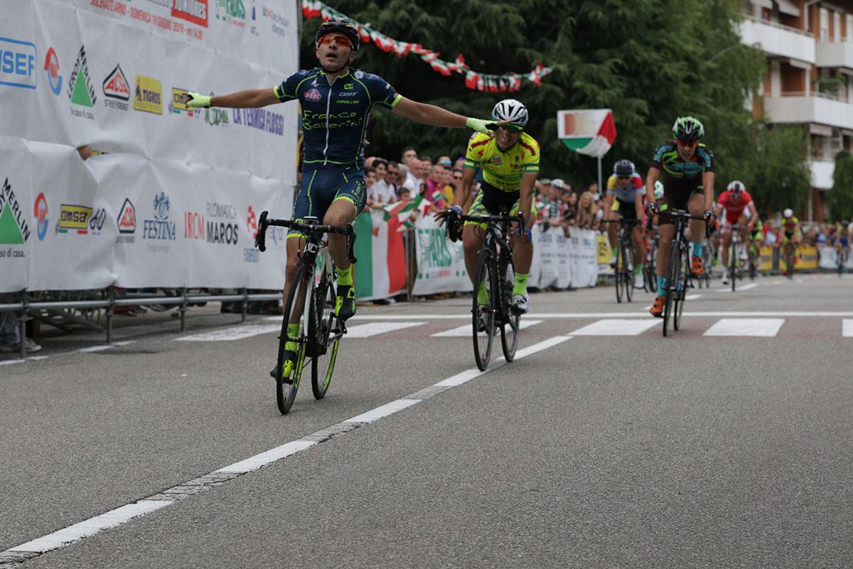 La vittoria di Mattia Bevilacqua