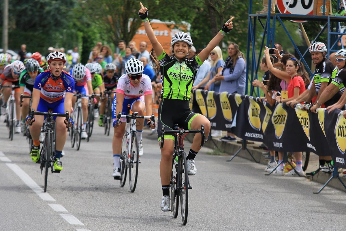 Giada Capobianchi vince la gara Donne Allieve di Macherio