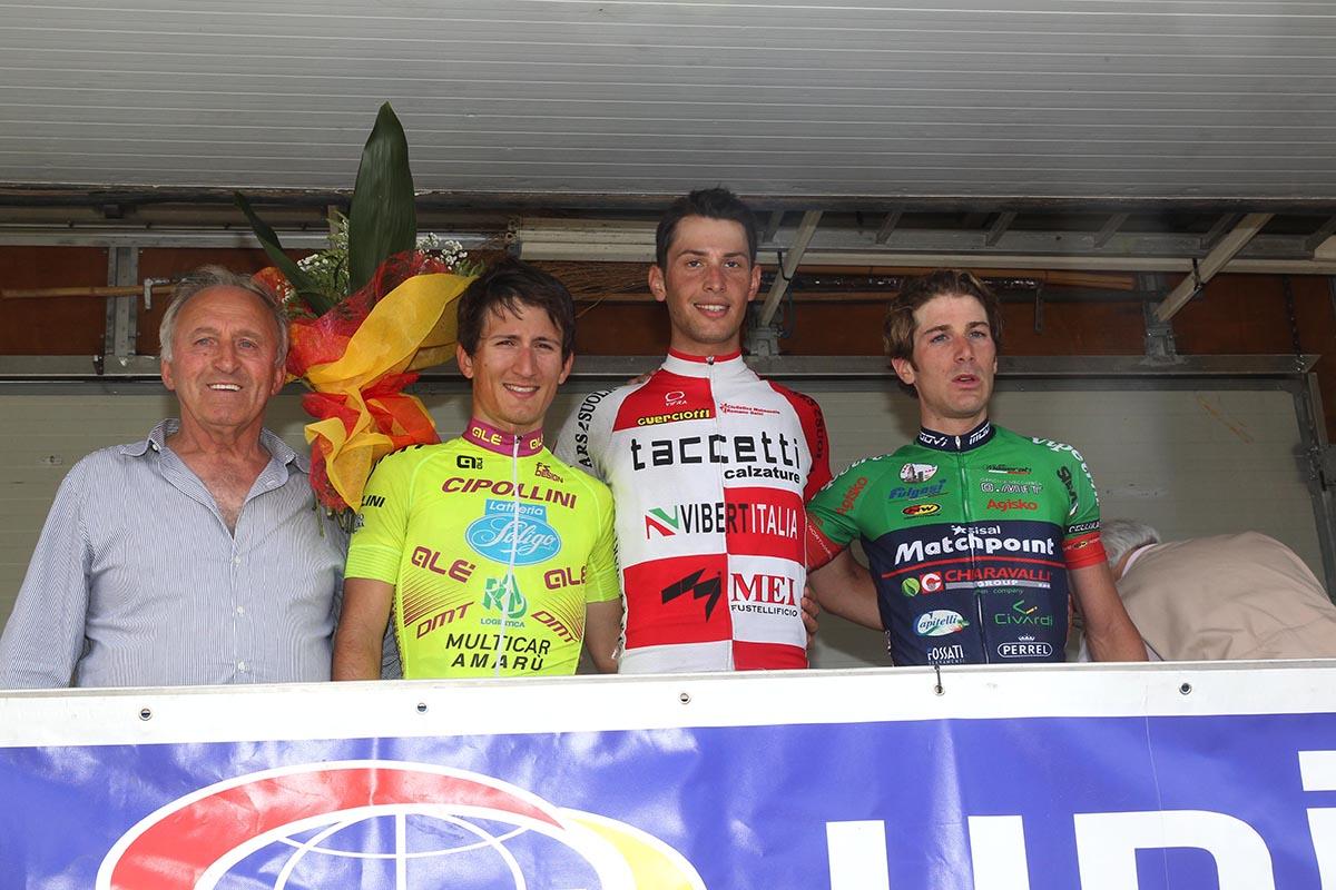 Il podio della Parma - La Spezia
