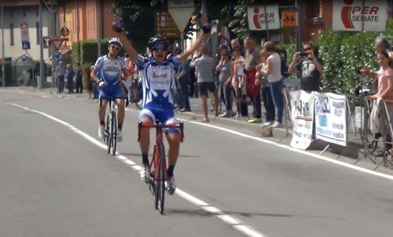 La vittoria di Davide Piganzoli a Cassinone di Seriate