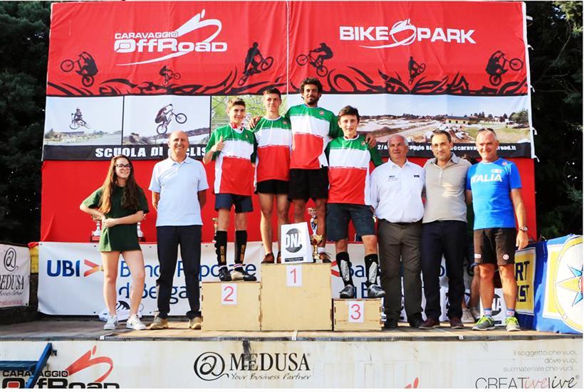 I campioni italiani Trials 2016
