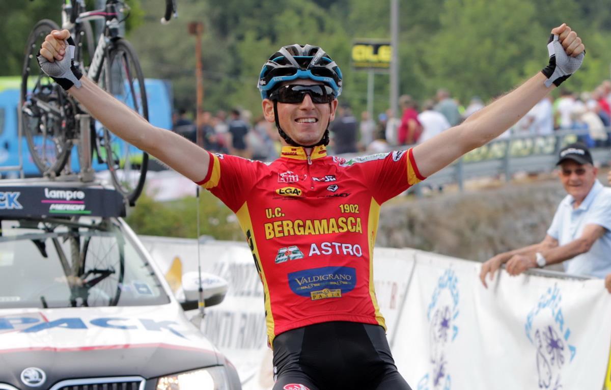 La vittoria di Andrea Garosio a Bosco Chiesanuova