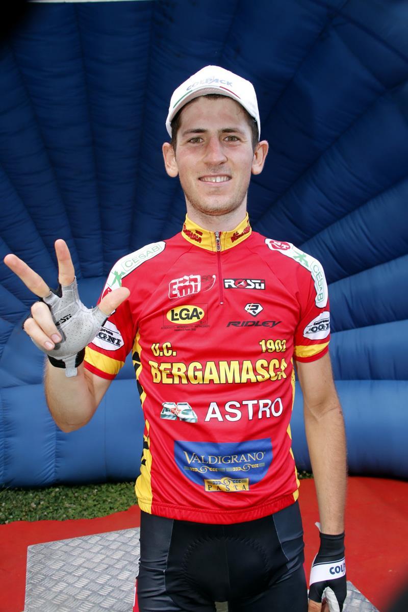 Terza vittoria stagionale per Andrea Garosio