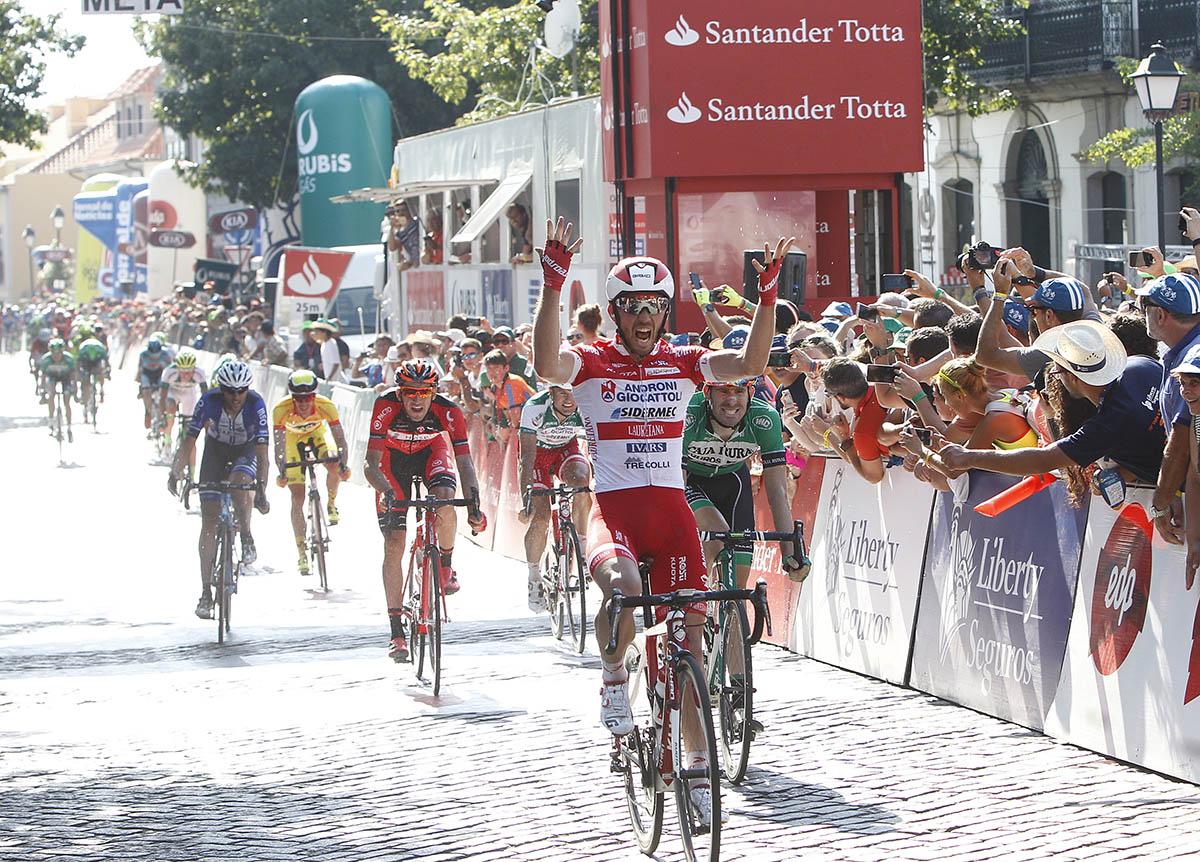 La vittoria di Francesco Gavazzi nella seconda tappa della Volta a Portugal