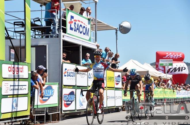 La vittoria di Alessandro Covi a San Paolo d'Argon