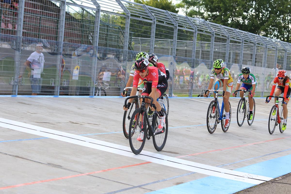 Uno degli sprint di Silvia Zanardi
