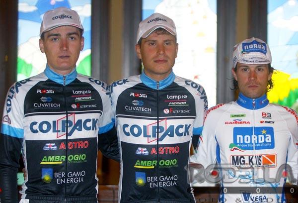 Il podio del Giro del Medio Brenta