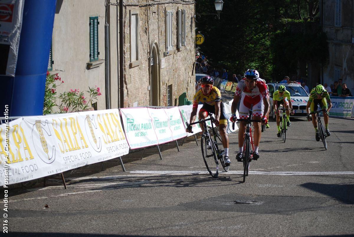La vittoria di Marco Bernardinetti a Lippiano