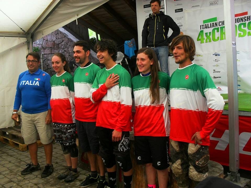 I campioni italiani 4Cross 2016