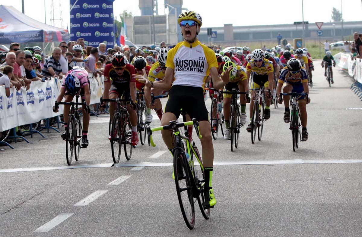 La vittoria di Riccardo Chesini a Villafranca