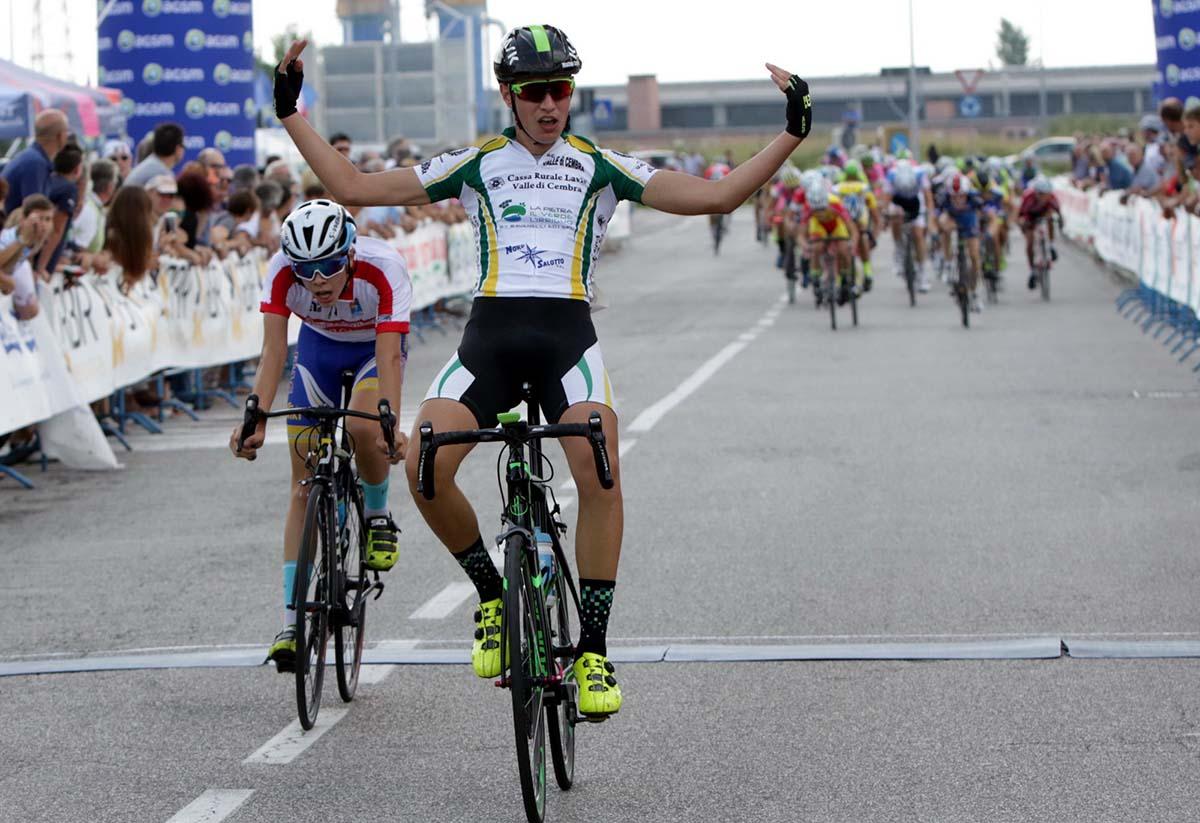 Matteo Calovi vince la gara Esordienti 2° anno del Trofeo Le Sdinse