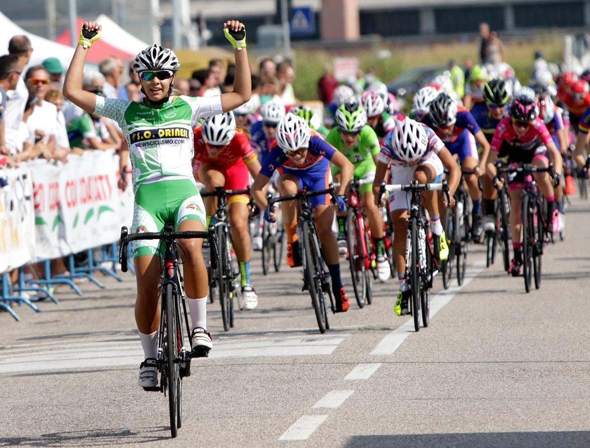 La vittoria di Sonia Rossetti a Villafranca