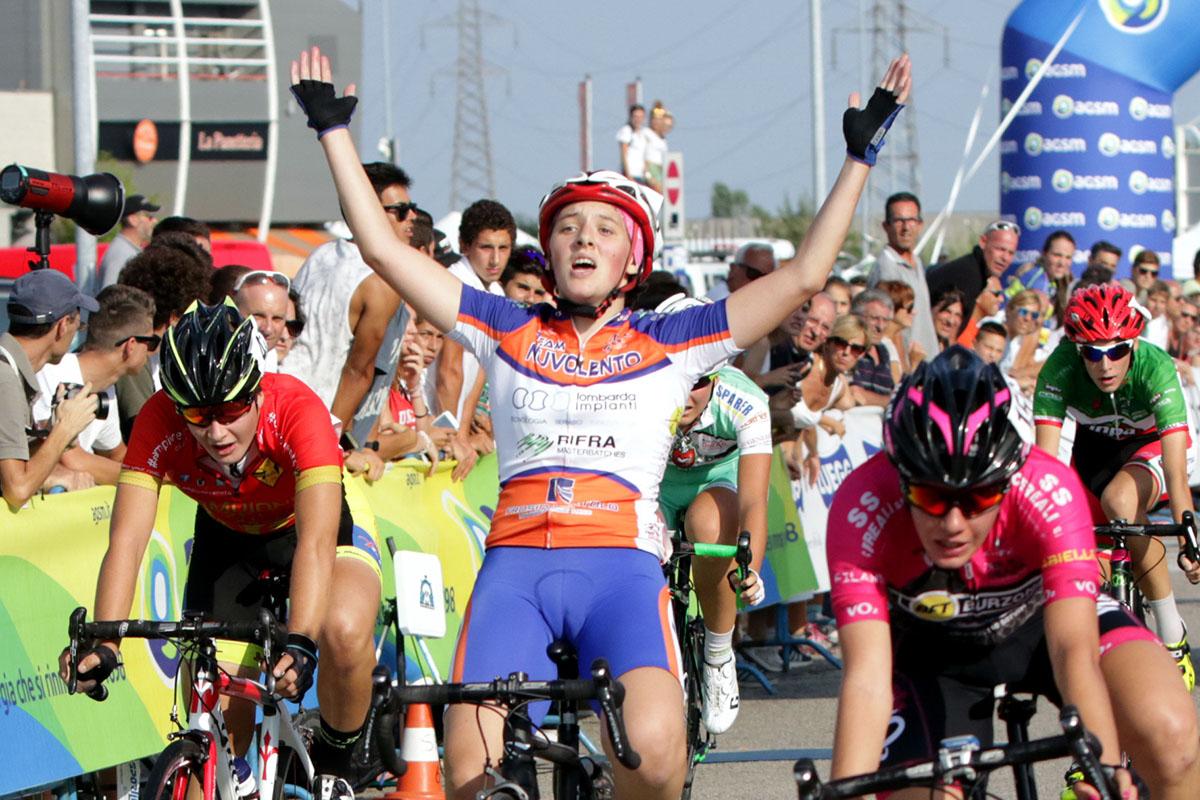 La vittoria di Emanuela Zanetti a Villafranca