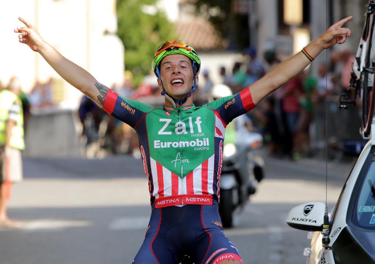 La vittoria di Pietro Andreoletti a Sommacampagna