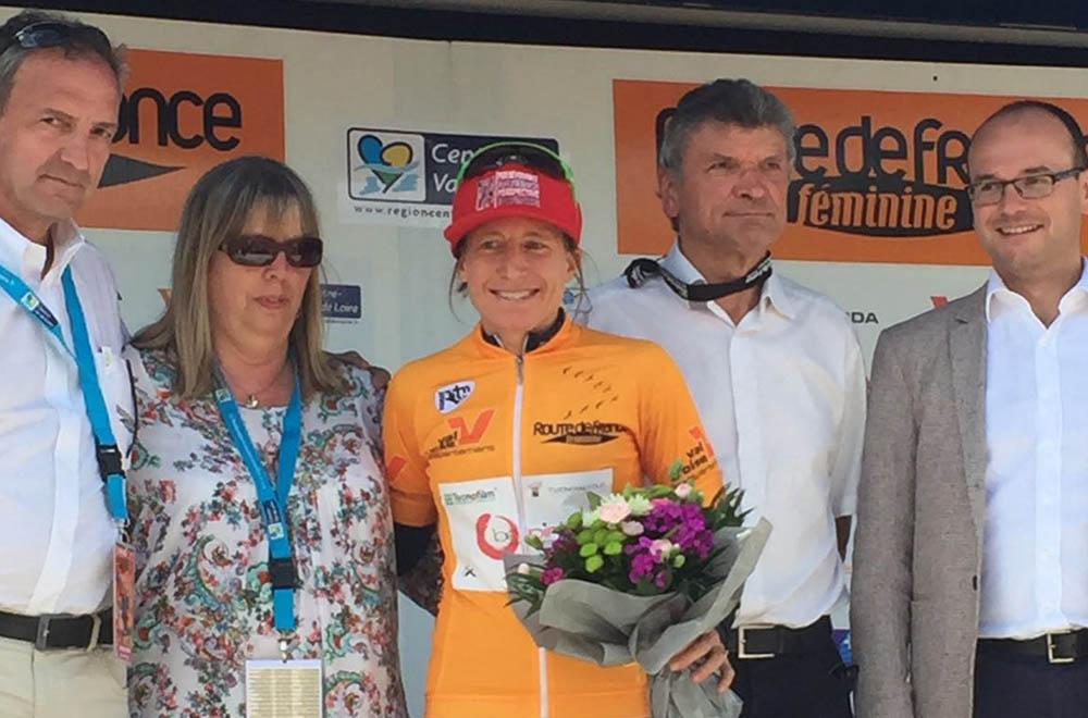Amber Neben premiata come leader della La Route de France