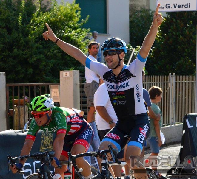 Ottava vittoria stagionale per Riccardo Minali