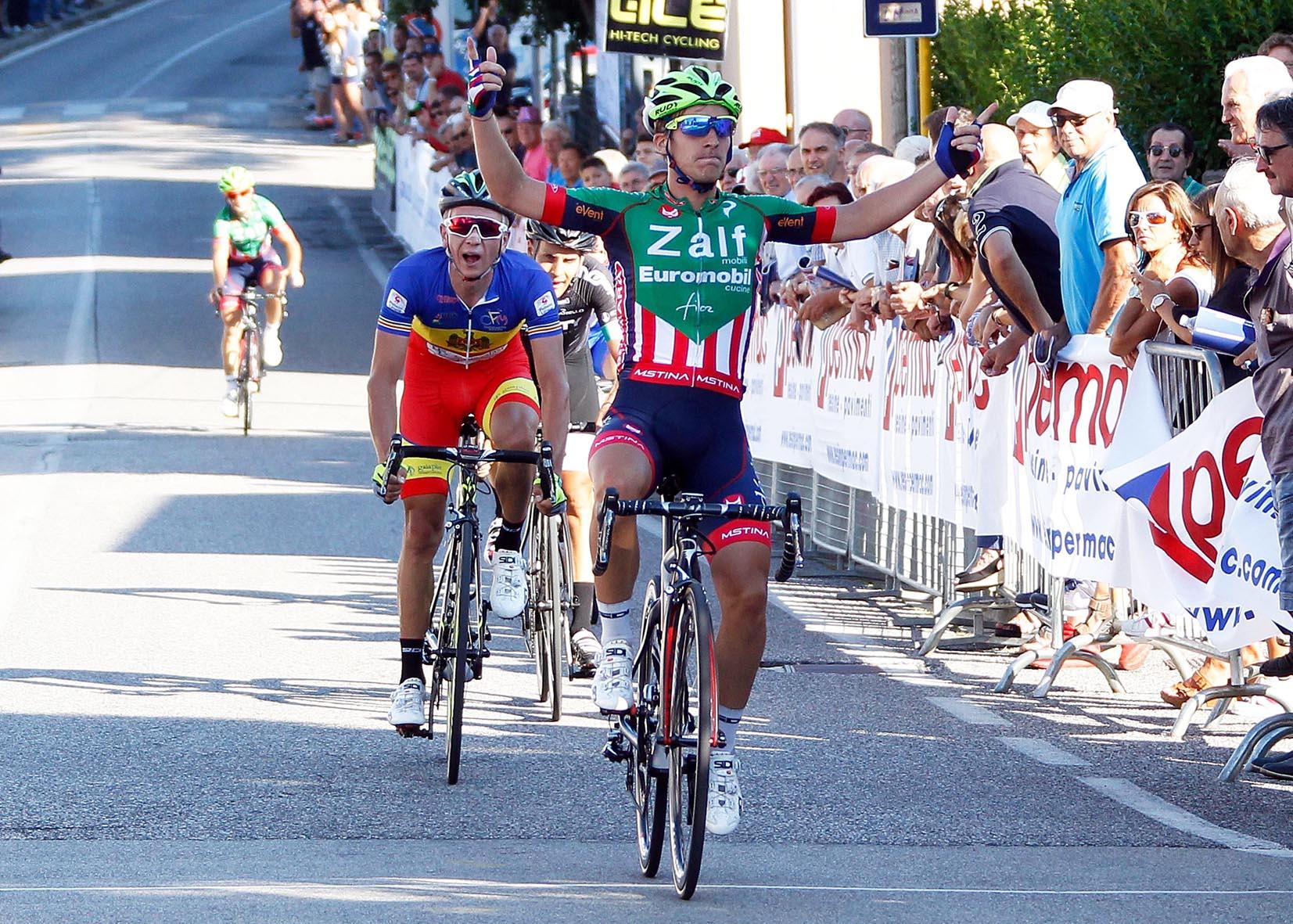 La vittoria di Nicolò Rocchi a Scomigo