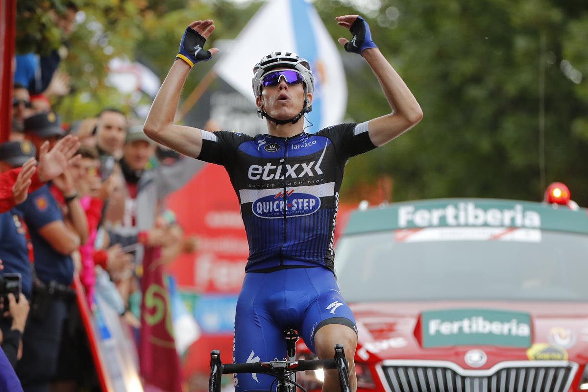 David de La Cruz vince la nona tappa della Vuelta